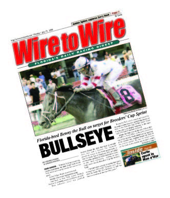 FLORIDA EQUINE PUBLICATION MAGAZINE - Wire to Wire